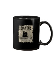 WANTED DEAD AND ALIVE SCHRODINGER'S CAT Mug thumbnail