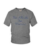 THAT'S A HORRIBLE IDEA Youth T-Shirt thumbnail