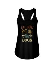 LIFE GOAL PET ALL THE DOGS VT Ladies Flowy Tank thumbnail