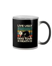LIVE UGLY FAKE YOUR DEATH Color Changing Mug thumbnail