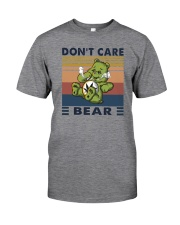 DON'T CARE BEAR Classic T-Shirt front