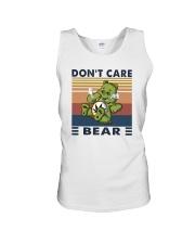 DON'T CARE BEAR Unisex Tank thumbnail