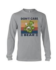 DON'T CARE BEAR Long Sleeve Tee thumbnail