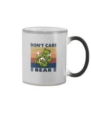 DON'T CARE BEAR Color Changing Mug thumbnail