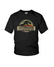 MOTHERHOOD IT'S A WALK IN THE PARK Youth T-Shirt thumbnail