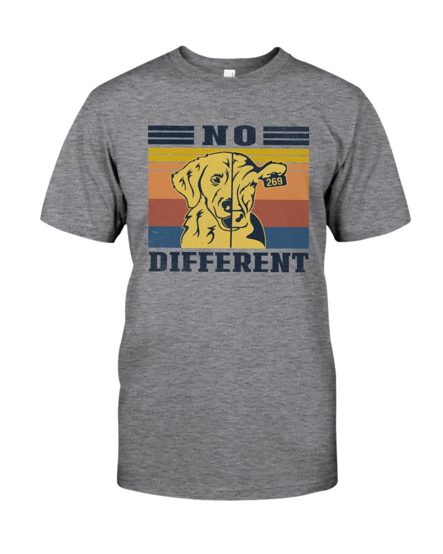 NO DIFFERENT VEGAN Classic T-Shirt