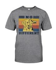 NO DIFFERENT VEGAN Classic T-Shirt front
