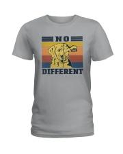 NO DIFFERENT VEGAN Ladies T-Shirt thumbnail
