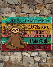 I'M MOSTLY PEACE LOVE AND LIGHT 24x16 Poster poster-landscape-24x16-lifestyle-17