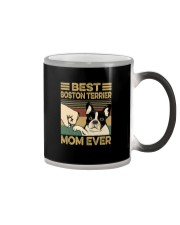 BEST BOSTON TERRIER MOM EVER Color Changing Mug thumbnail