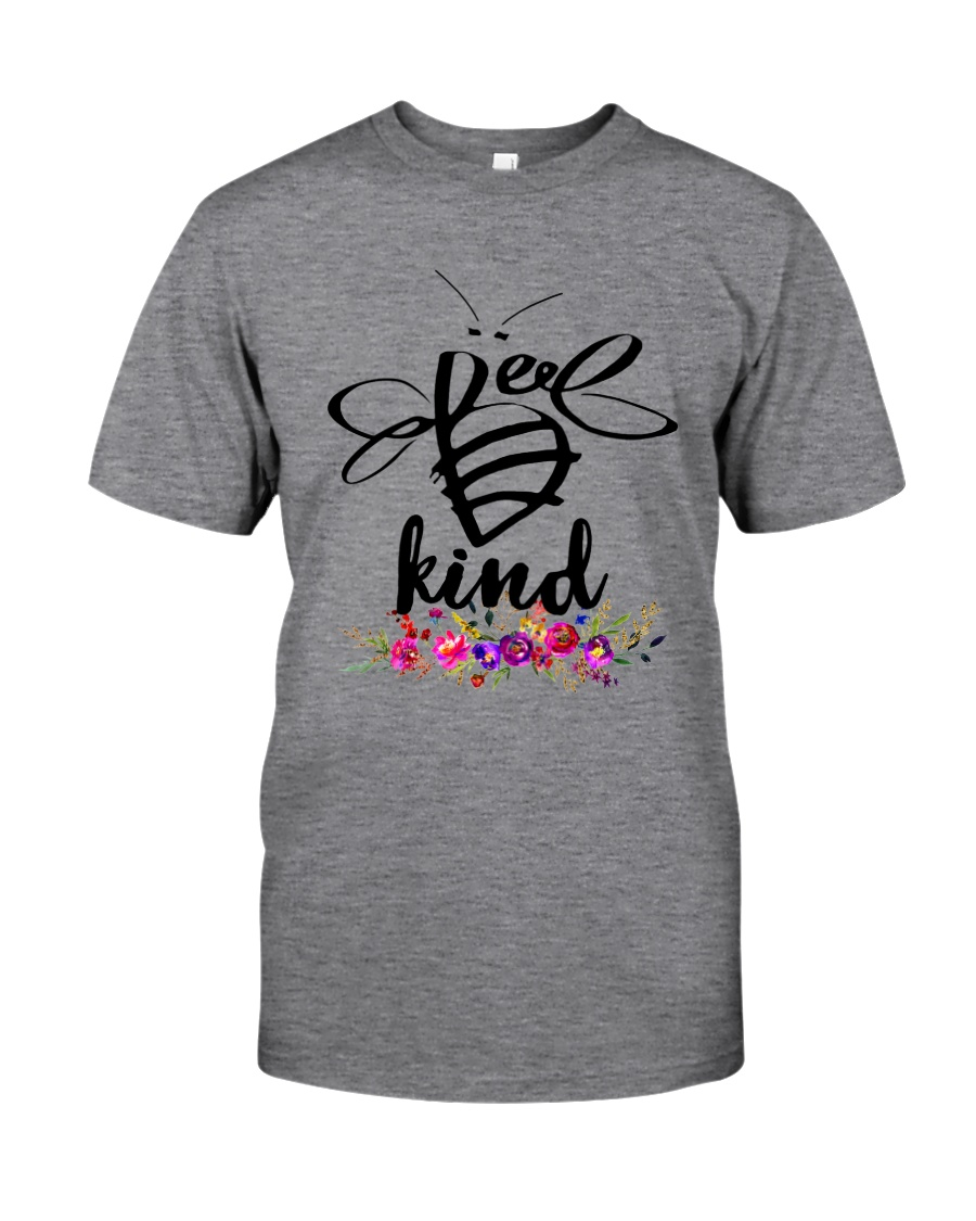BEE KIND ROSE FLOWER Classic T-Shirt