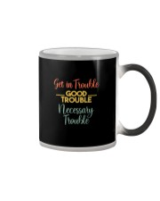 GET IN TROUBLE GOOD TROUBLE Color Changing Mug thumbnail