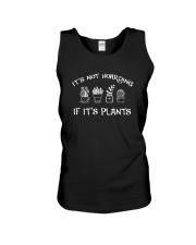 IT'S NOT HOARDING IF IT'S PLANTS Unisex Tank thumbnail