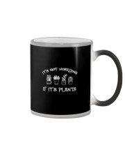 IT'S NOT HOARDING IF IT'S PLANTS Color Changing Mug thumbnail