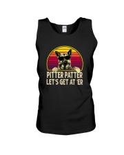 PITTER PATTER LET'S GET AT 'ER Unisex Tank thumbnail