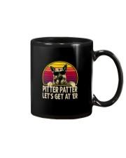 PITTER PATTER LET'S GET AT 'ER Mug thumbnail