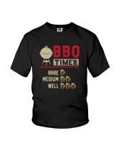 BBQ TIMER RARE MEDIUM WELL Youth T-Shirt thumbnail