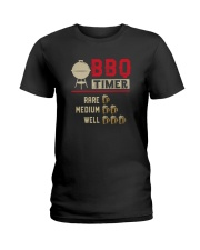 BBQ TIMER RARE MEDIUM WELL Ladies T-Shirt thumbnail