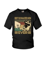 BEST SCHNAUZER MOM EVER s Youth T-Shirt thumbnail
