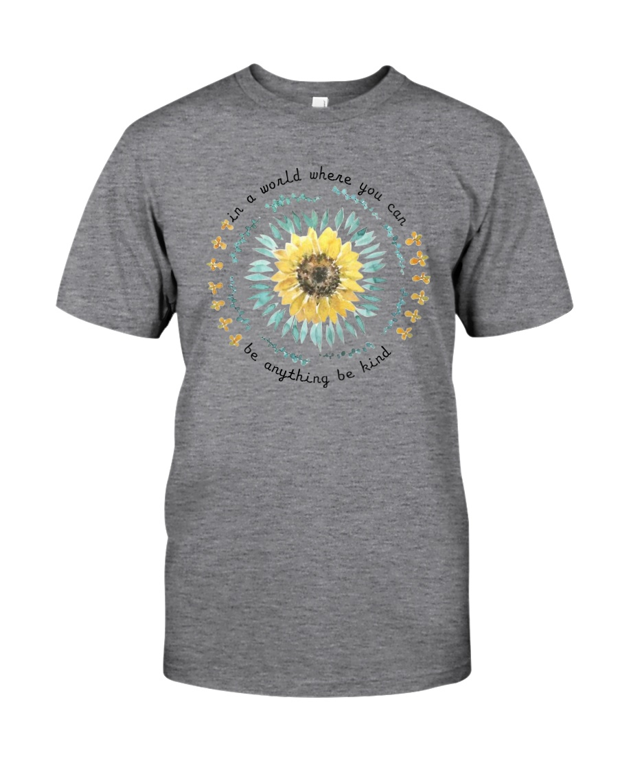 BE KIND SUNFLOWER Classic T-Shirt