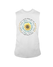 BE KIND SUNFLOWER Sleeveless Tee thumbnail