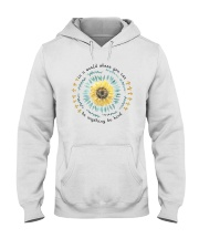 BE KIND SUNFLOWER Hooded Sweatshirt thumbnail