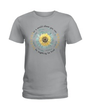 BE KIND SUNFLOWER Ladies T-Shirt thumbnail