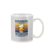 BOURBON GOES IN WISDOM COMES OUT Mug thumbnail