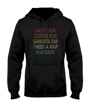 MESSY BUN COFFEE RUN MOMLIFE Hooded Sweatshirt thumbnail