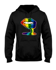 LGBT RAINBOW LIP PRIDE Hooded Sweatshirt thumbnail