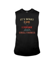 IT'S WHAT I DRINK AND GRILL THINGS Sleeveless Tee thumbnail