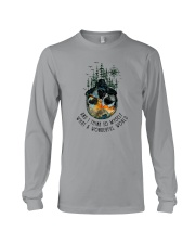 AND I THINK TO MYSELF WHAT A WONDERFUL WORLD Long Sleeve Tee thumbnail