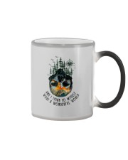 AND I THINK TO MYSELF WHAT A WONDERFUL WORLD Color Changing Mug thumbnail
