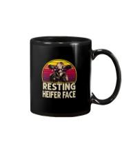 RESTING HEIFER FACE Mug thumbnail