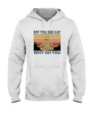 EFFYOU SEE KAY SLOTH Hooded Sweatshirt thumbnail