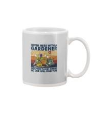 NEVER MESS WITH A GARDENER Mug thumbnail