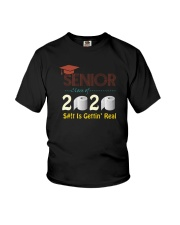 CLASS 2020 SHIT GETTIN' REAL Youth T-Shirt thumbnail