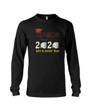 CLASS 2020 SHIT GETTIN' REAL Long Sleeve Tee thumbnail