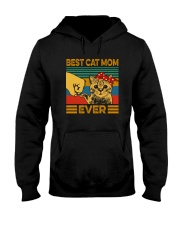 BEST CAT MOM EVER Hooded Sweatshirt tile