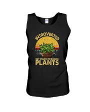 WILLING TO DISCUSS PLANTS Unisex Tank thumbnail