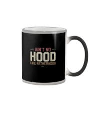 AIN'T NO HOOD LIKE FATHERHOOD Color Changing Mug thumbnail
