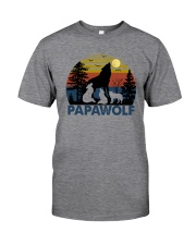 PAPA WOLF Classic T-Shirt front