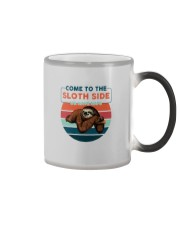 COME TO THE SLOTH SIDE WE HAVE NAPS Color Changing Mug thumbnail