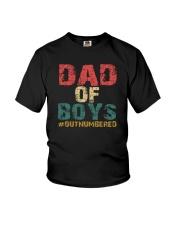 DAD OF BOYS Youth T-Shirt thumbnail