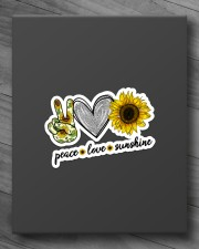 PEACE LOVE SUNSHINE Sticker - Single (Vertical) aos-sticker-single-vertical-lifestyle-front-10