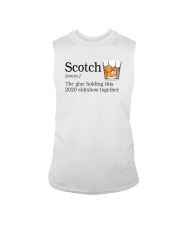 SCOTCH THE GLUE HOLDING THIS 2020 Sleeveless Tee thumbnail