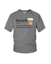 SCOTCH THE GLUE HOLDING THIS 2020 Youth T-Shirt thumbnail