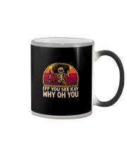 EFF YOU SEE KAY WHY OH YOU Color Changing Mug thumbnail
