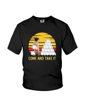 COME AND TAKE  IT pug Youth T-Shirt thumbnail