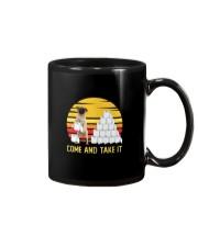 COME AND TAKE  IT pug Mug thumbnail